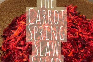 Beet the Carrot Spring Slaw Salad Recipe