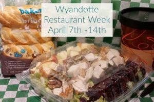 Wyandotte Restaurant Week April 7th -14th