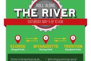 Roll Along the River Cycling Event, May 5th at 10 AM