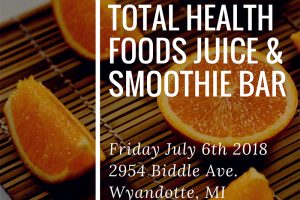 Celebrate the Grand Re-Opening of THF Fresh Fruit Juice and Smoothie Bar